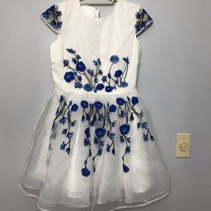 Beautiful Floral embroidered dress